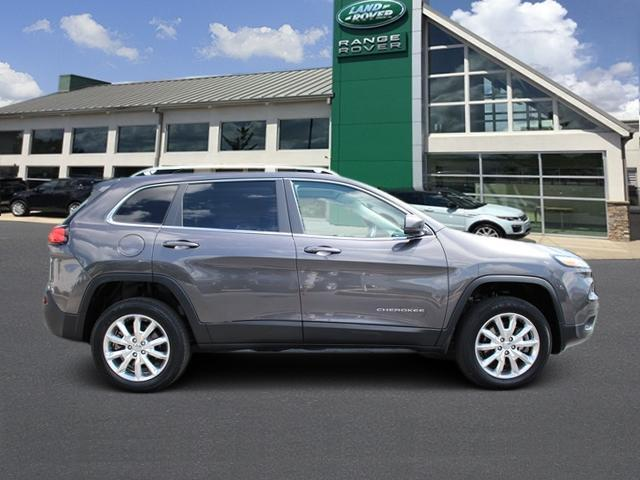 Pre-Owned 2014 Jeep Cherokee 4WD 4dr Limited
