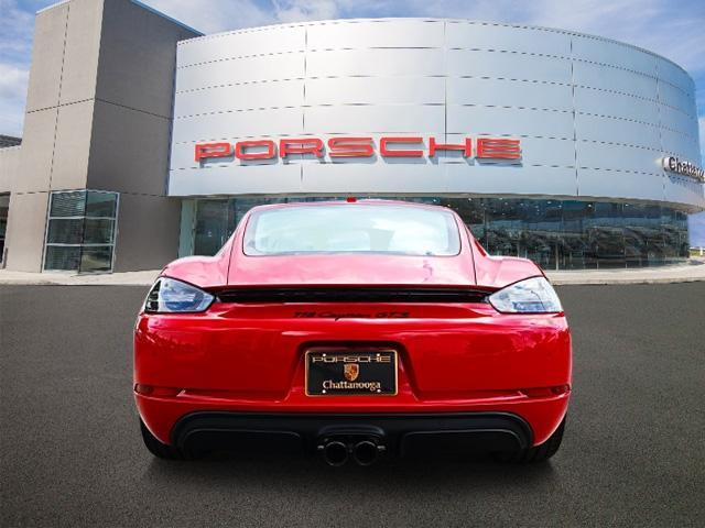 New 2018 Porsche 718 Cayman GTS Coupe