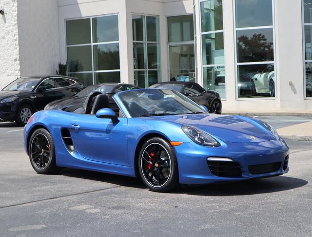 Certified Pre-Owned 2015 Porsche Boxster 2dr Roadster S