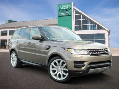 Pre-Owned 2015 Land Rover Range Rover Sport 4WD 4dr SE