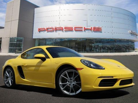 New 2019 Porsche 718 Cayman MANUAL COUPE