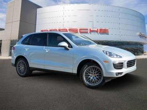 New 2018 Porsche Cayenne Platinum Edition - AWD