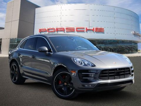 Certified Pre-Owned 2016 Porsche Macan AWD 4dr Turbo